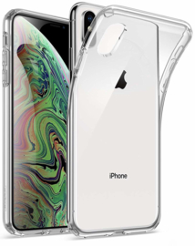 Apple iPhone XS transparante soft case TPU