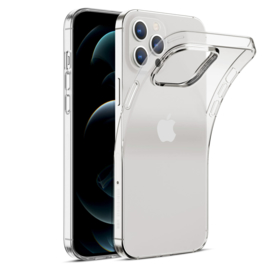 Apple iPhone 12 PRO transparante soft case TPU