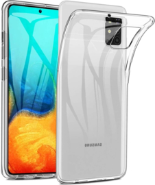 Samsung Galaxy A71 transparante soft case TPU