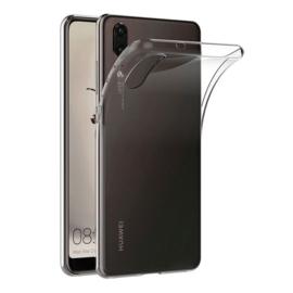 Huawei P20 transparante soft case TPU