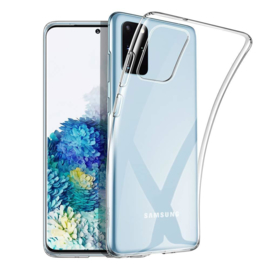 Samsung Galaxy S20 PLUS transparante soft case TPU