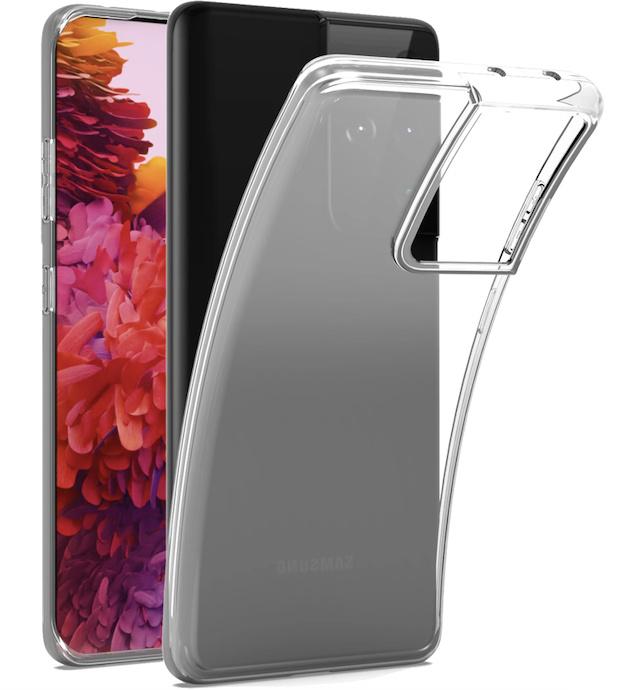 Samsung Galaxy S21 ULTRA transparante soft case TPU