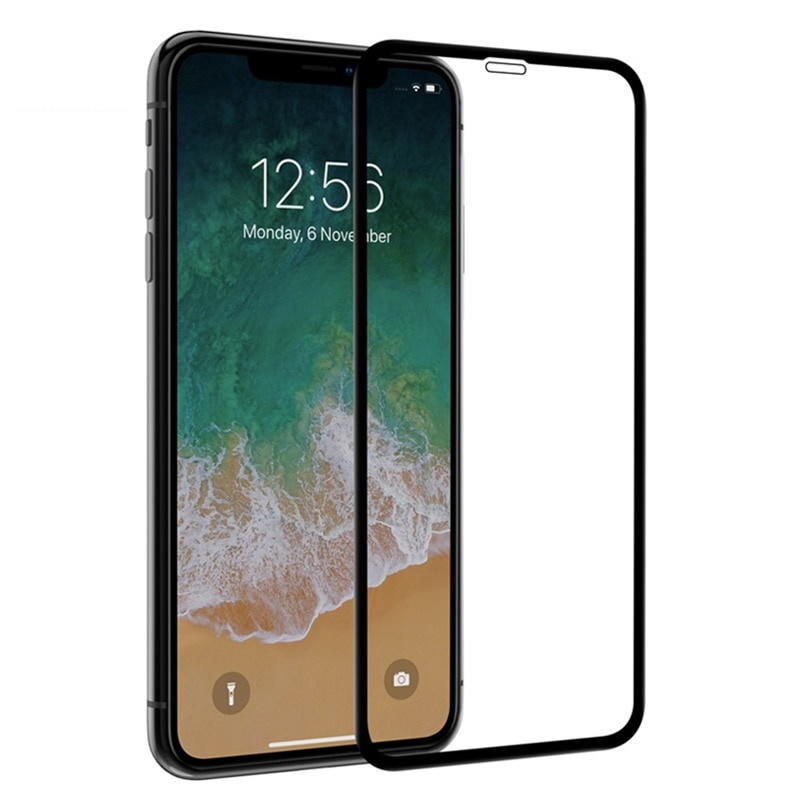 Apple iPhone X tempered glass - full coverage