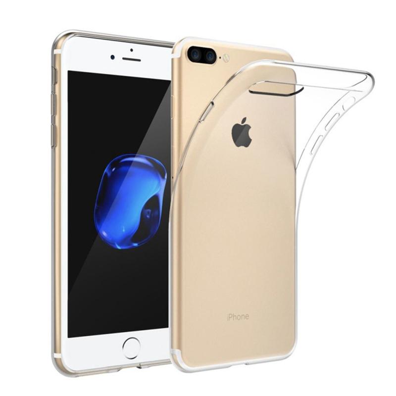 Apple iPhone 8 PLUS transparante soft case TPU