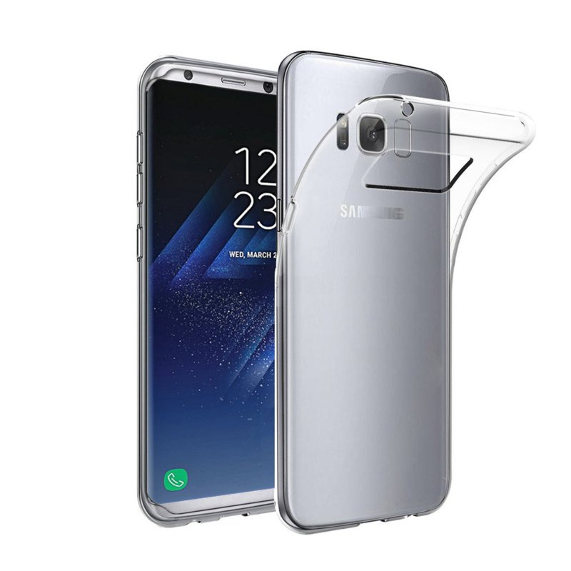Samsung Galaxy S8 transparante soft case TPU