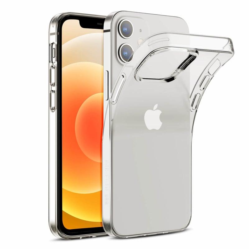 Apple iPhone 12 transparante soft case TPU