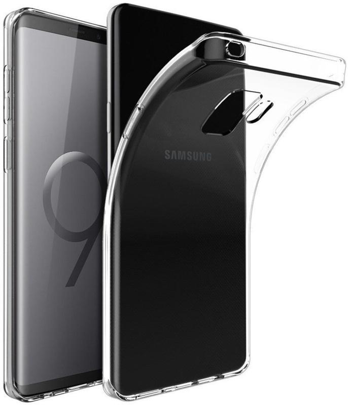 Samsung Galaxy S9 transparante soft case TPU