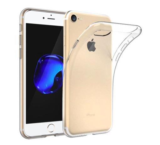 Apple iPhone 8 transparante soft case TPU