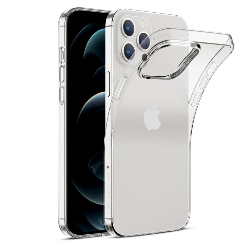 Apple iPhone 12 PRO transparante soft case TPU