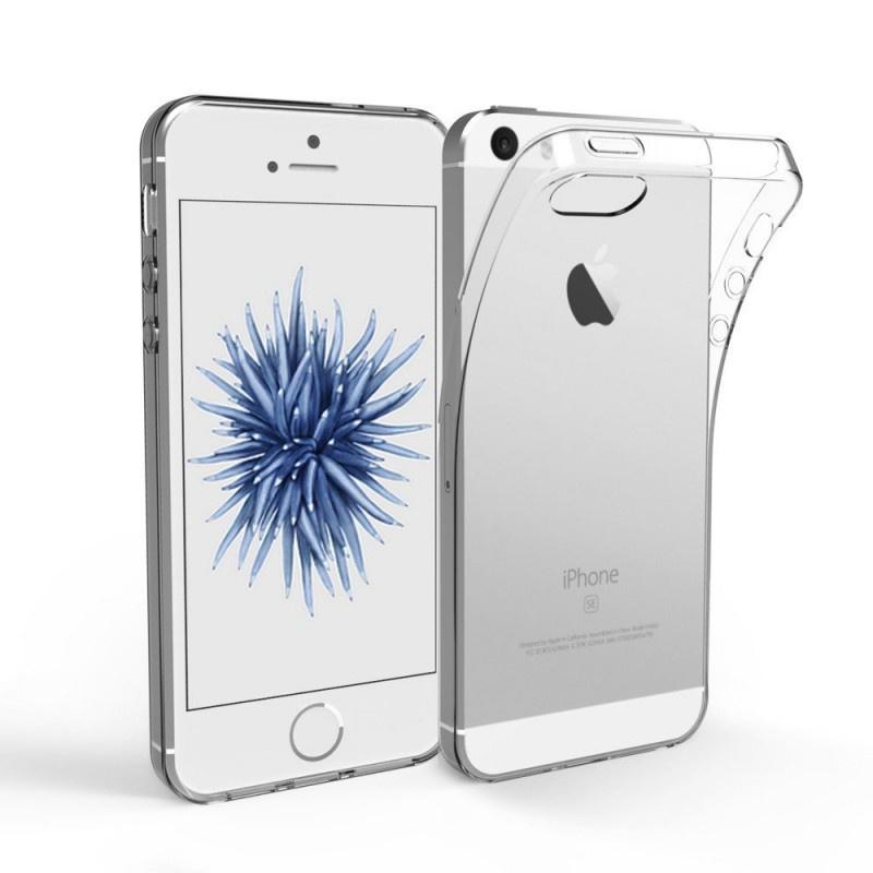 Apple iPhone 5/5s/SE transparante soft case TPU
