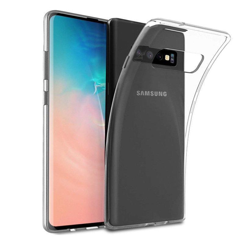 Samsung Galaxy S10 PLUS transparante soft case TPU