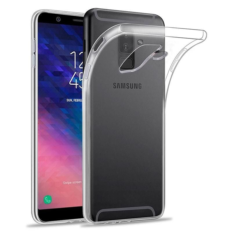 Samsung Galaxy A6 2018 transparante soft case TPU