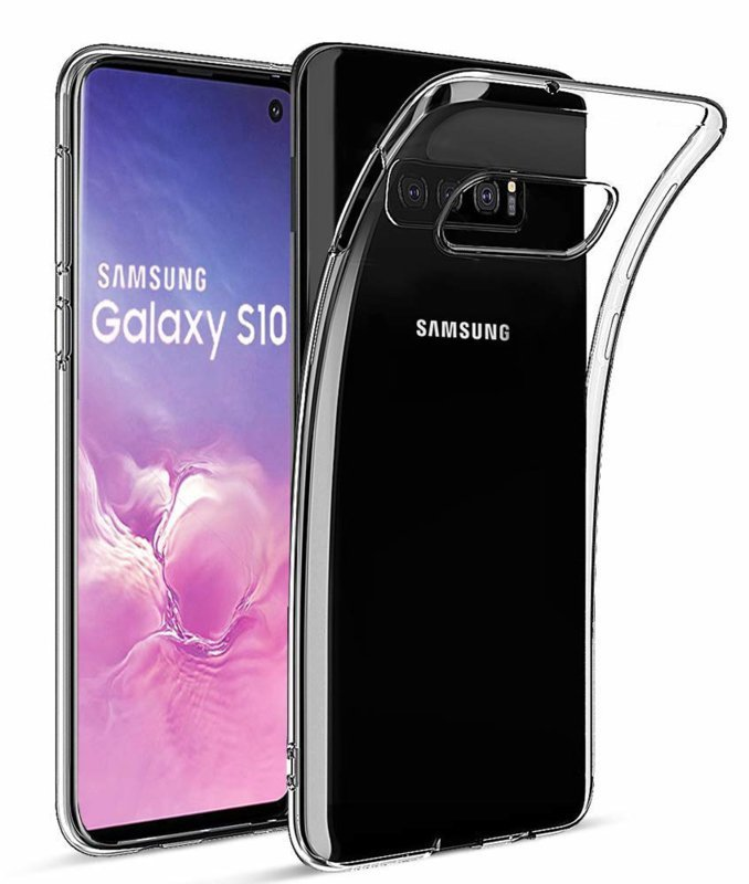 Samsung Galaxy S10E transparante soft case TPU