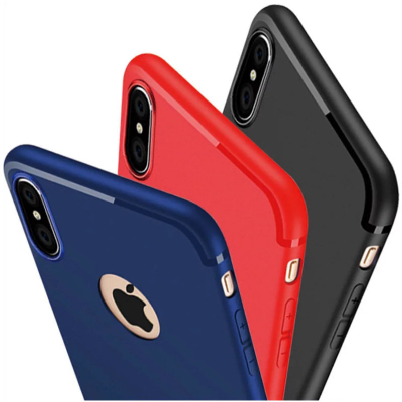 Apple iPhone XS matte soft case TPU