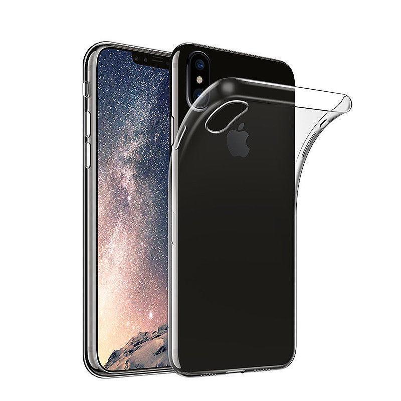 Apple iPhone X transparante soft case TPU