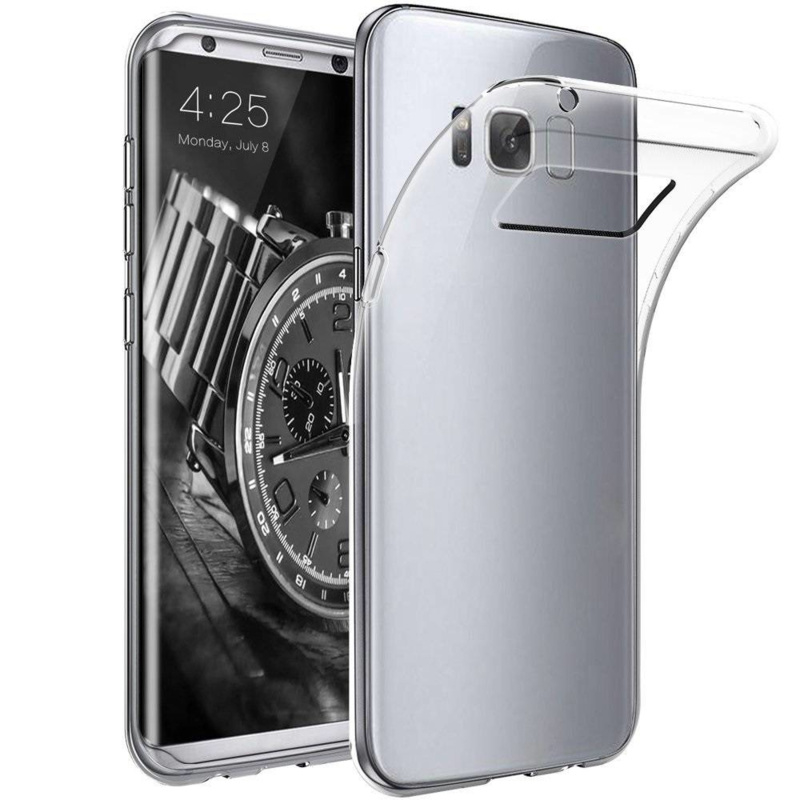 Samsung Galaxy S8 PLUS transparante soft case TPU