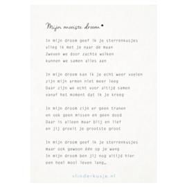 Ansichtkaart 'Mooiste droom'