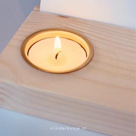 Gedenkplekje XL 'Lichtje' • keuze uit 10 kaarten