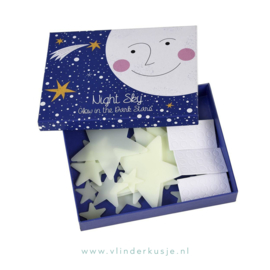 'Night Sky' Glow in the dark sterretjes