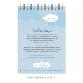 'Wolkenkusjes' - Gedichtenbundel bij verlies van een kind