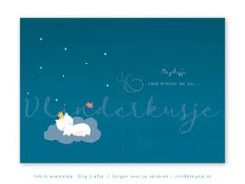 'Dag liefje...' ~ Voor sterrenouders