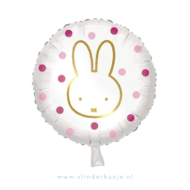 Nijntje ballon / Roze