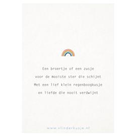 Ansichtkaart 'Zwanger na verlies'