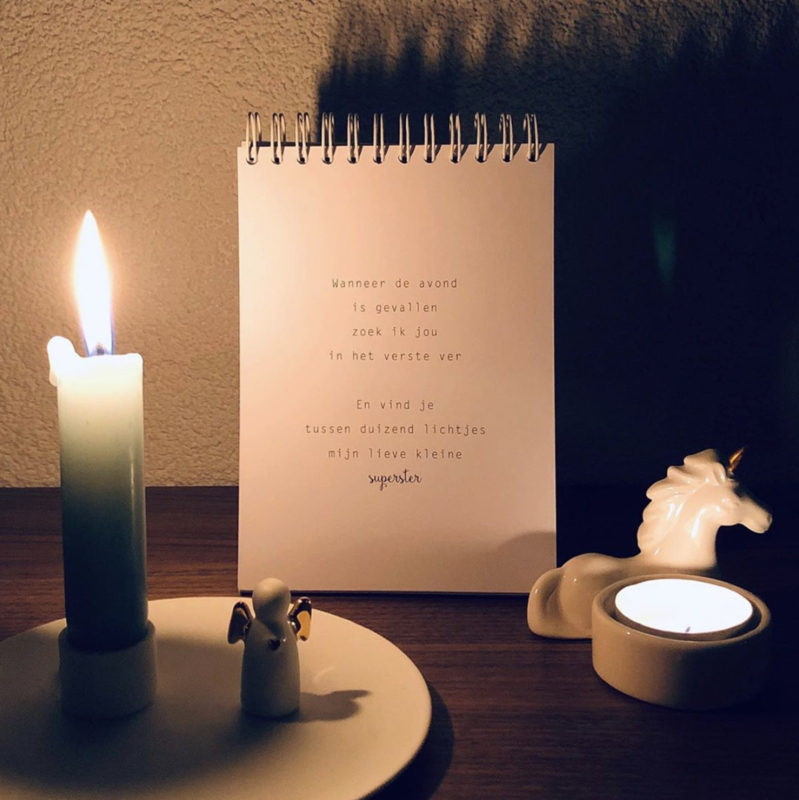 Gedichtenbundel 'Wolkenkusjes' - Bij verlies van een kind