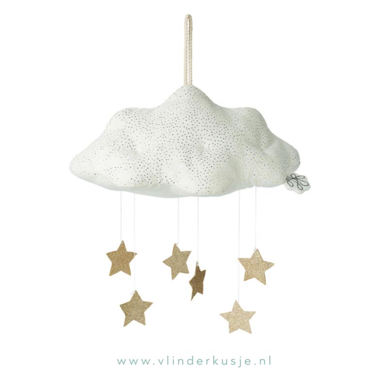 Wolk met sterren * Wit