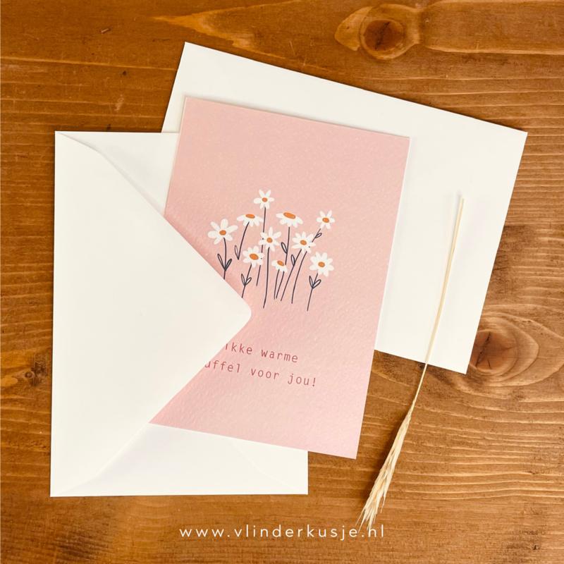 Luxe enveloppe voor A6 kaarten / wit
