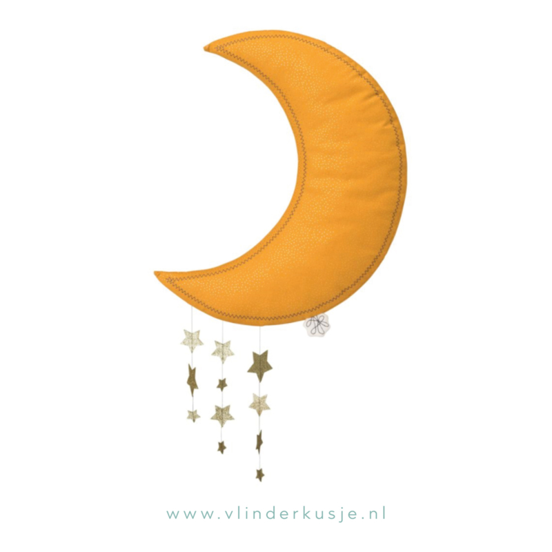 Moon & Stars - Okergeel