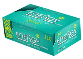 Energy+ Menthol Filterhulzen