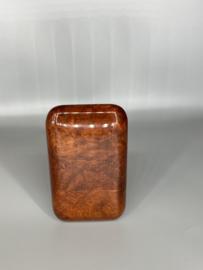 Sigarenkoker bruin mahonie