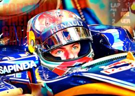 Max Verstappen. Tweede in GP van de V.S. 2018