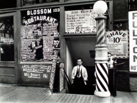 Blossom restaurant, Bowery 103, Manhattan