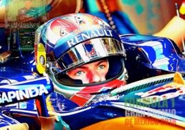 Max Verstappen. Eerste  in GP van Mexico. 2018