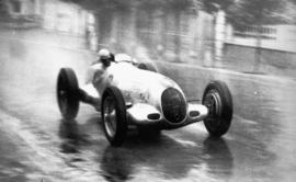Autocoureur in actie: Rudolf Caracciola