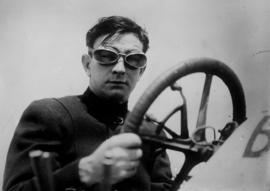 Autocoureur uit de twenties