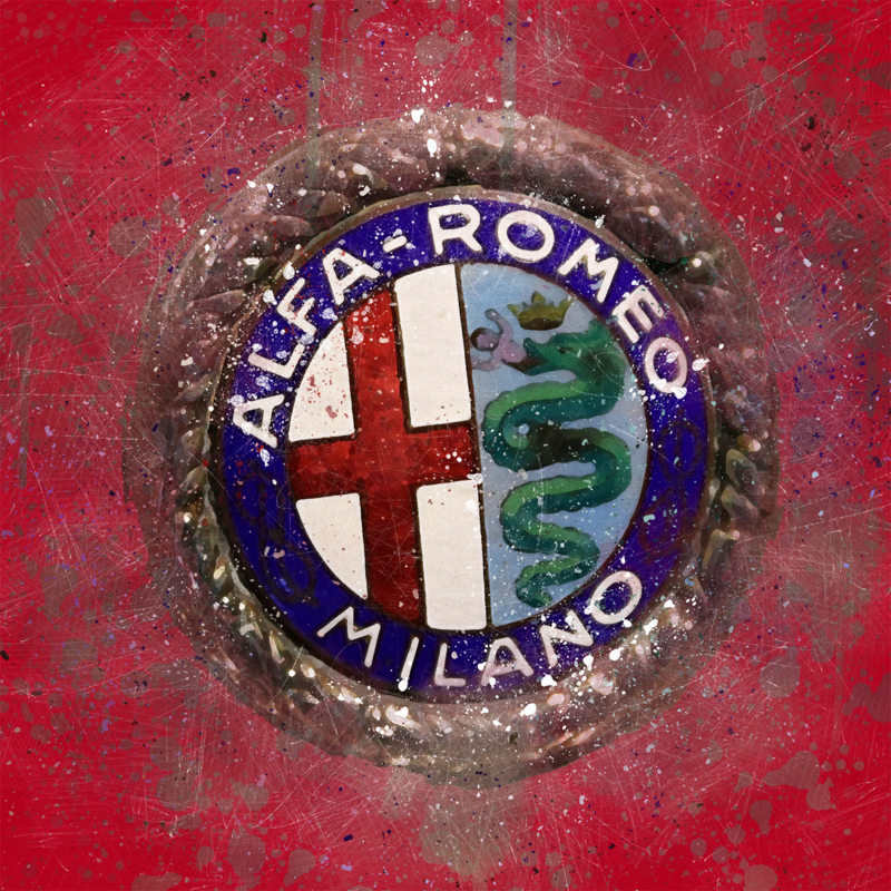 Alfa Romeo Logo, jaren 20 van de vorige eeuw.