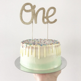 cake topper ONE