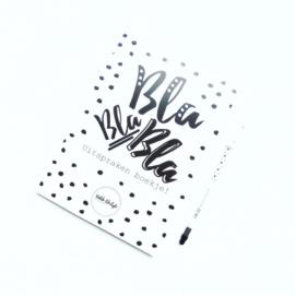Uitspraken boekje BLA BLA