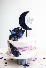 Cake topper 'Maan & Naam' n