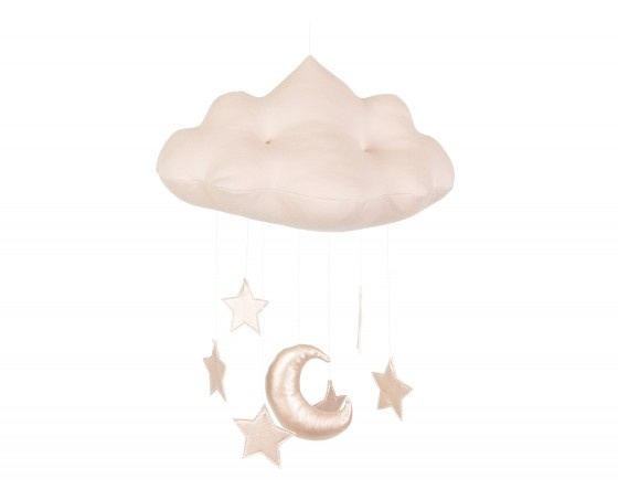 Cloud mobile Powder Pink