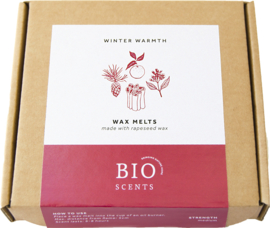 Bio Scents Winter Warmth Wax Melts (+/- 90 Gr)