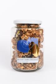 Naturally Granola Belgian Dark Chocolate pot 300 gram