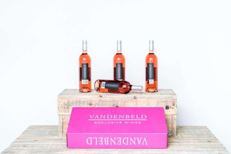 VANDENBELD Wijnen - Rosé 2018 (6 stuks)