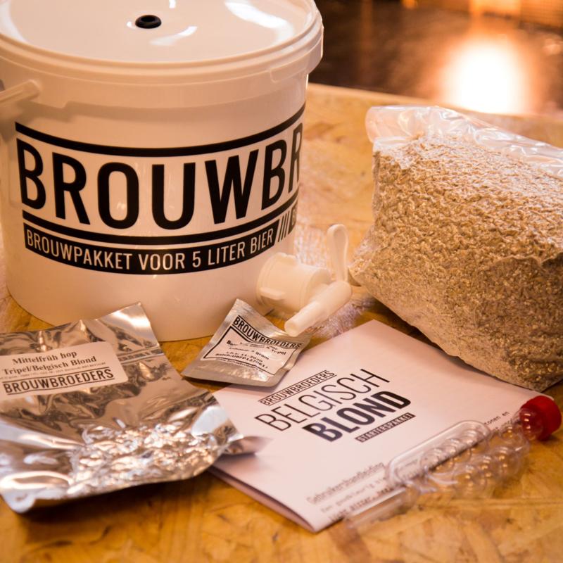 Brouwpakket - Belgisch Blond