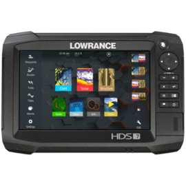 Lowrance HDS-7 Carbon zonder transducer
