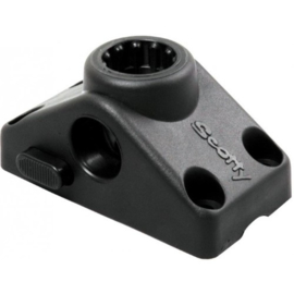 Scotty 241L Side/Deck Mounting Bracket, Locking, Black