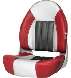 Tempress ProBax High-Back bootstoel rood/grijs/carbon